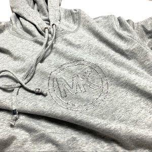 Michael Kors Sequin Logo Hoodie Medium